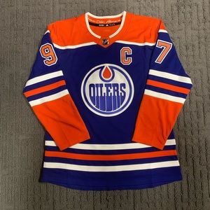 Throwback Connor McDavid Oilers Jersey